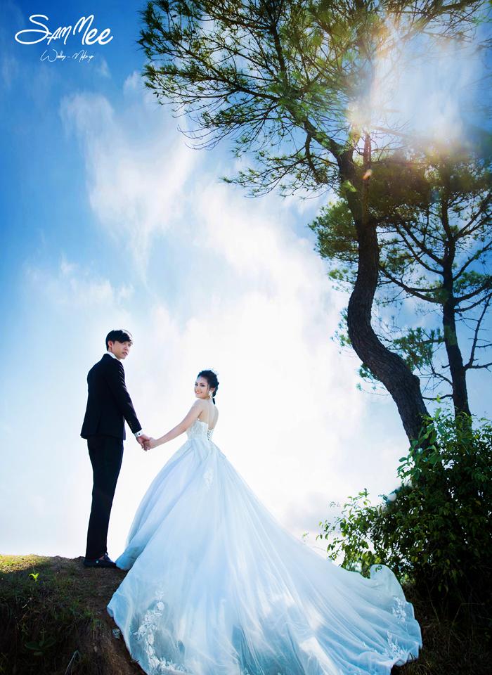 Các kiểu chụp ảnh cưới đẹp nhất