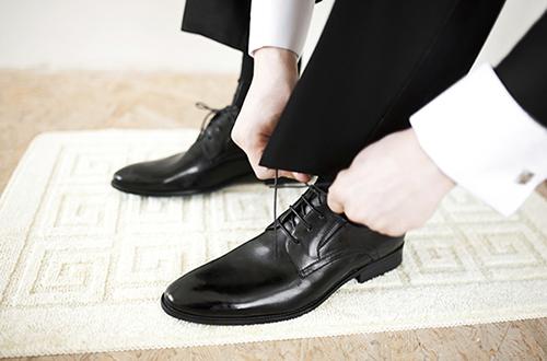 Thiết kế sang trọng của đôi giày bắt mắt