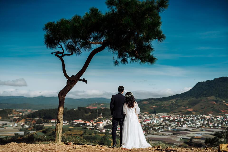 Chụp ảnh cưới sao bỏ qua được Đà Lạt